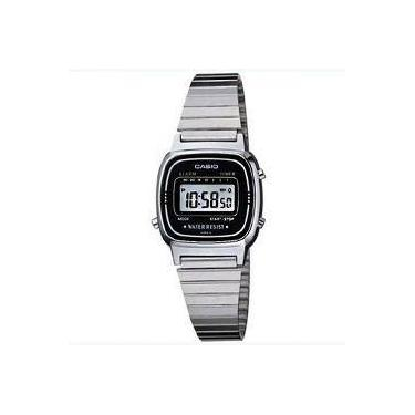 193b322d0b6 Relógio Feminino Casio Digital Fashion LA670WA-1DF