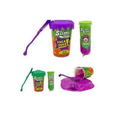 Imagem de Slime Slimy Kit Faça Você Mesmo C/ Supresa Original Sortidos - Toyng