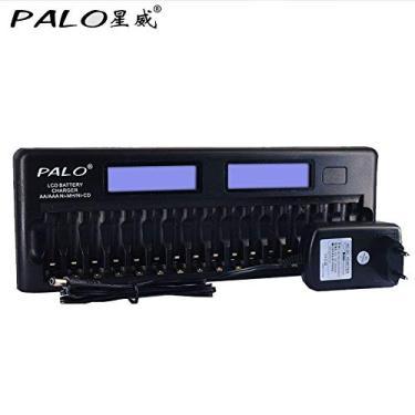 Carregador de pilhas Palo PL-NC31 de 16 pilhas