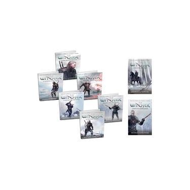 Kit Livros Coleção The Witcher - Capa Game ( 8 Livros )