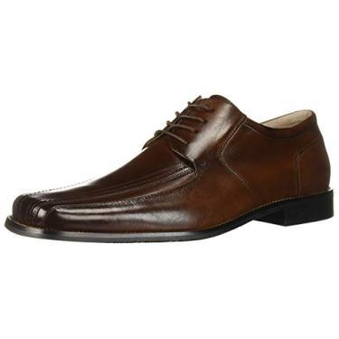 Sapato masculino Stacy Adams Martell Oxford, Marrom, 9.5 Wide