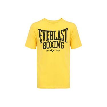 Camiseta Everlast Silk Frente EL20203 - Masculina - AMARELO Everlast 760b5d0cda