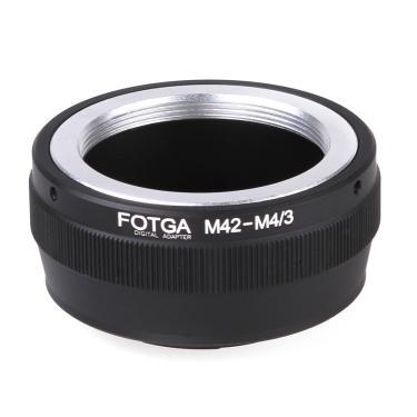 Imagem de Fotga anel adaptador para m42 lente para micro 4/3 câmera olympus dslr adaptador de lente