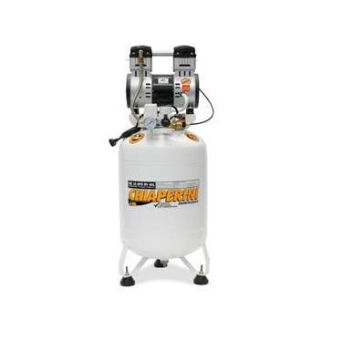 Compressor de Ar Odontológico MC 10 BPO - RV 60L - Bivolt 127/220V - Chiaperini