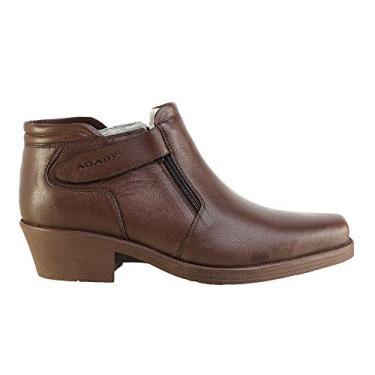 Bota Conforto Hb Agabe Boots - 403.004 - Pl Cafe - Solado de Borracha PVC Bota Conforto Hb Agabe Boots - 403.004 - Pl Cafe - Numero:44
