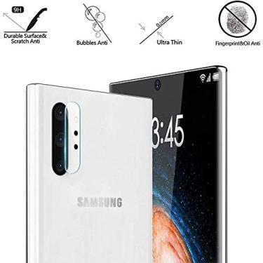 Película Nano Gel Flexível P/Lente de Câmera Samsung Galaxy Note 10 Tela 6.3
