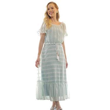 Vestido Fascinius Ana Sofia Verde