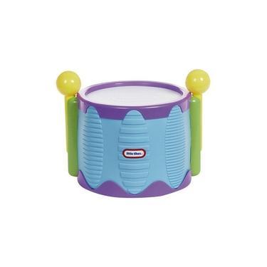 Imagem de Brinquedo Infantil Tambor Drum Tap A Tune Little Tikes