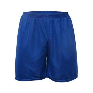 Calção Futebol Kanga Sport - Calção Azul Royal - GG
