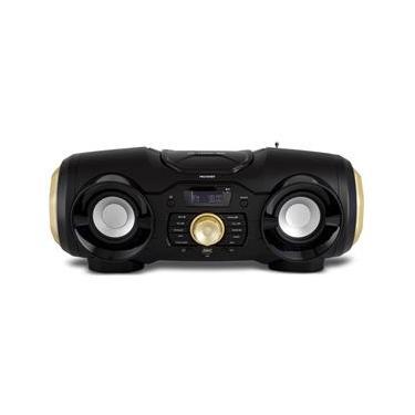 Som Portátil Philco Boombox PBO400BT com Bluetooth, Entrada USB e Rádio FM - 100 W