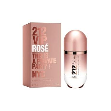 Perfume Carolina Herrera 212 Vip Rosé Feminino Eau De Parfum - 30 Ml