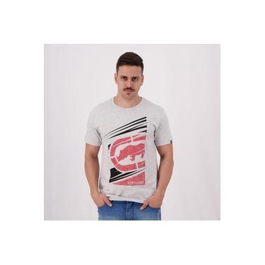 Camiseta Ecko Estampada Rhino Gelo Mescla