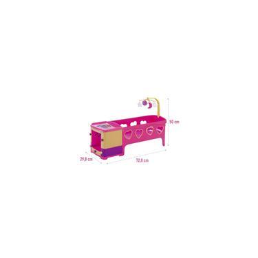 Imagem de Berço de Boneca Princess Meg Rosa Reborn Magic Toys 8101
