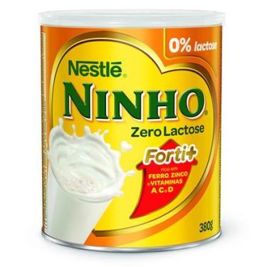 Leite Ninho Zero Lactose 380g NESTLÉ