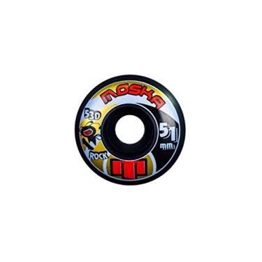 Roda Moska 51mm Rock Black 53d