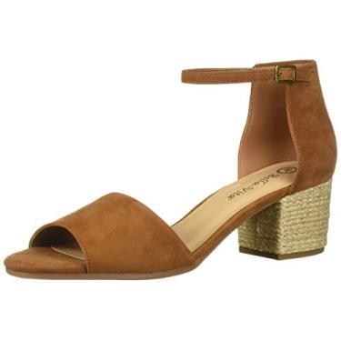 Imagem de Bella Vita sandália feminina com alça de quatro pés, Biscuit Kidsuede Leather, 9.5 Wide