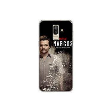 Capa para Galaxy J8 - Narcos | Pablo Escobar