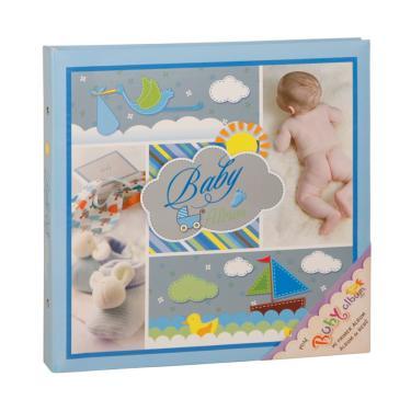 Baby Álbum 100 fotos 10x15 Capa Dura AZUL