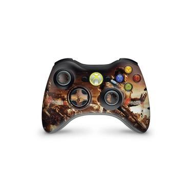 Skin Adesivo Para Xbox 360 Controle - Gears Of War 2