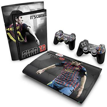 Skin Adesivo para PS3 Super Slim - Fifa 13