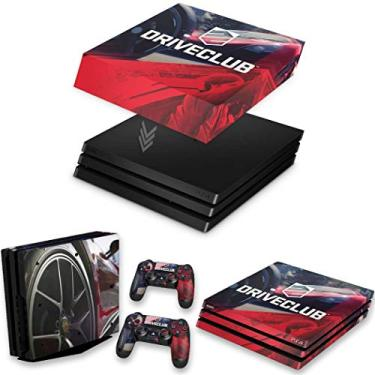 Capa Anti Poeira e Skin para PS4 Pro - Driveclub