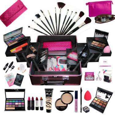 Imagem de Maleta Maquiagem Completa Profissional Ruby Rose + Necessaire Rubys