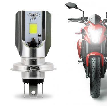 Lâmpada LED para Moto H4 12W 12V Tonalidade Branca Aplicação Farol