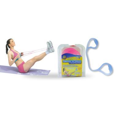 Tubogel Extensor p/ Exercícios e Fisioterapia Fisiopauher  FG 29 Orthopauher Azul