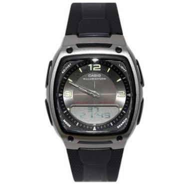 f85207e7a0a Pechinchas-31% Relógio Masculino Anadigi Casio AW-81-1A1VDF - Preto