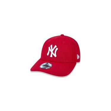 Imagem de Bone 940 New York Yankees Mlb Aba Curva Vermelho New Era