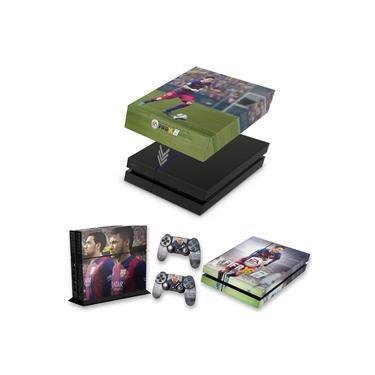 Capa Anti Poeira e Skin para PS4 Fat - Fifa 16