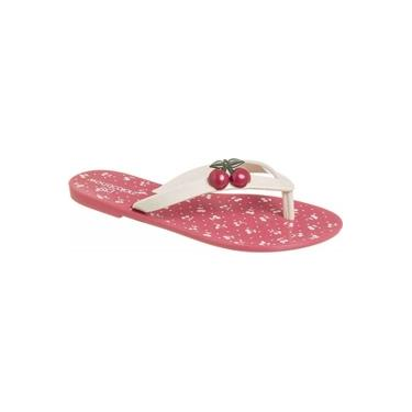 Chinelo Summer Cereja World Colors 022.048