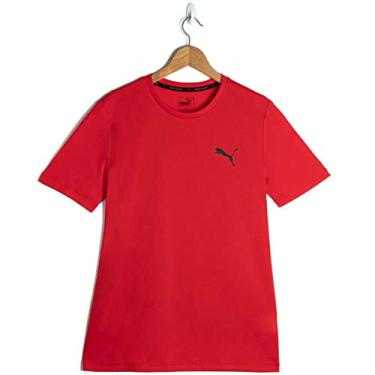 Camiseta Active, Puma, Masculino, Vermelho, M