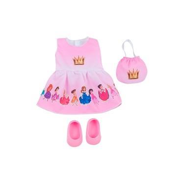 Imagem de Roupa de Boneca Baby Alive - Kit Princesas - Laço de Fita