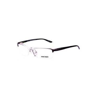 62c41235bccfa Armação Oculos De Grau Mormaii Floripa 11 Cod. 133111952 Prata Preto