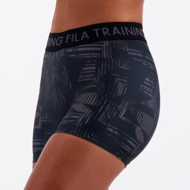 Short Fila Training Elastic Feminino Cinza - P