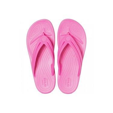 Chinelo Feminino Crocs Crocband Flip W Rosa - 2061