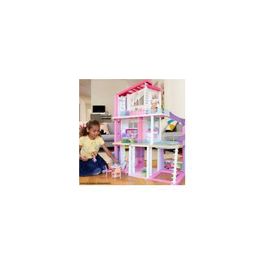 Imagem de Casinha de Boneca - Barbie Dreamhouse - Casa dos Sonhos da Barbie - 70 Acessórios - Mattel