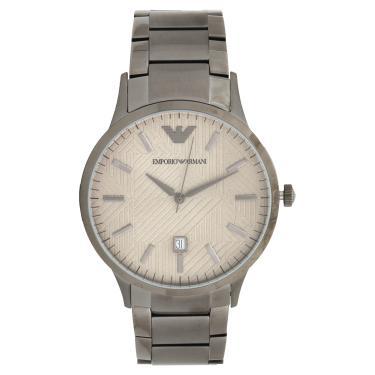 b24dbe1207c Relógio Empório Armani AR111201CN Cinza Empório Armani AR111201CN masculino