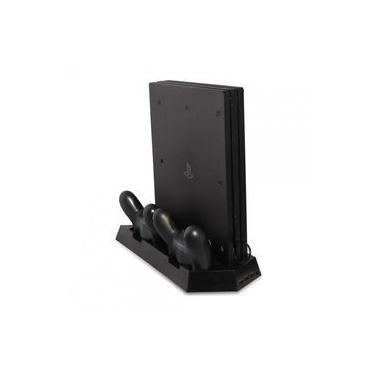Base Suporte Vertical Ps4 Slim Pro Cooler Hub Usb Carregador Tp4-023b