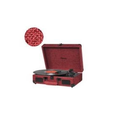 Vitrola Raveo Sonetto Onix Fire Com Toca-discos/usb/bt - Reproduz E Grava Em Mp3-90-08876