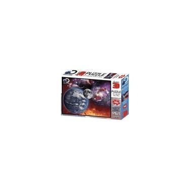 Imagem de Quebra Cabeça 3d Universo 500 Peças Multikids