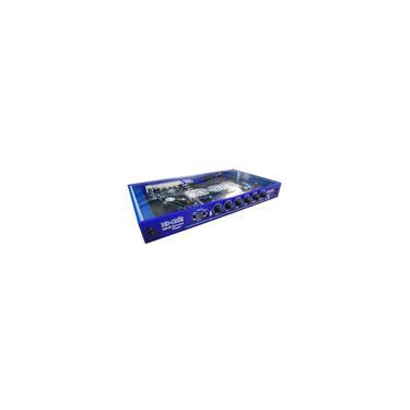 Imagem de Aparelho de Karaokê hd-okê kbox V2 azul + 2 mics M58