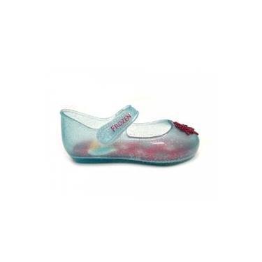 8f43bf2f2c Sapatilha Disney Frozen Shine Baby 21404 Grendene - Azul Glitter Prata R
