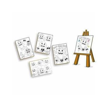 Imagem de Kit Pintura Com Mini Cavalete - Club Shark - Brincadeira De Criança