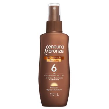 Bronzeador Cenoura & Bronze FPS 6 Spray com 110ml