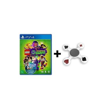 Jogo Lego DC Super Villains + Hand Spinner Naipes - PS4