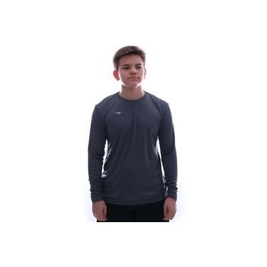 Camisa Térmica Penalty Matis 2 IX UV Manga Longa Grafite