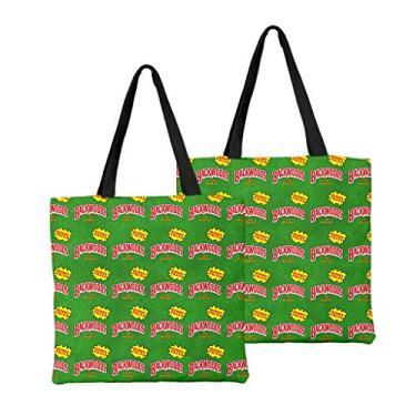 Bolsa de ombro feminina de alta capacidade, bolsa de ombro de lona, bolsa para laptop, moda urbana combinando, Macio, 16, One_Size