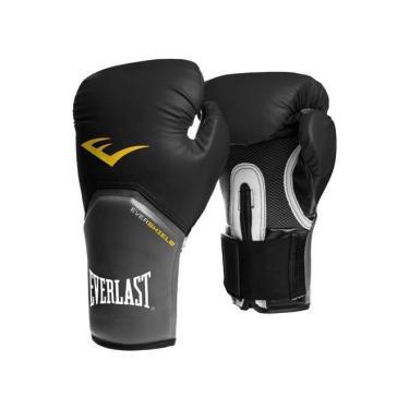 885316fa9 Luva Boxe Elite Pro Style Everlast - Preta - 14oz